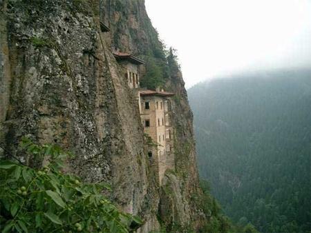 византийский монастырь Панагия Сумела