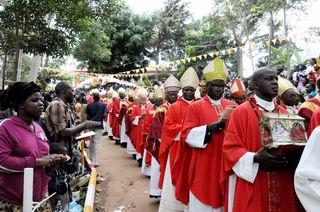 в паломничестве в праздник мучеников приняли участие свыше 500 000 человек